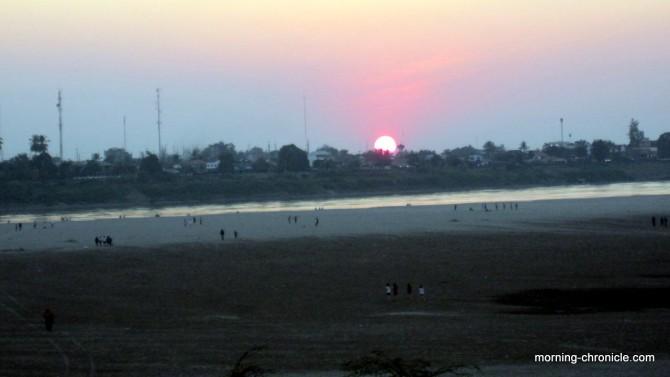 Mékong vue sur la Thaïlande