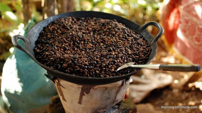 Café Laos torréfié