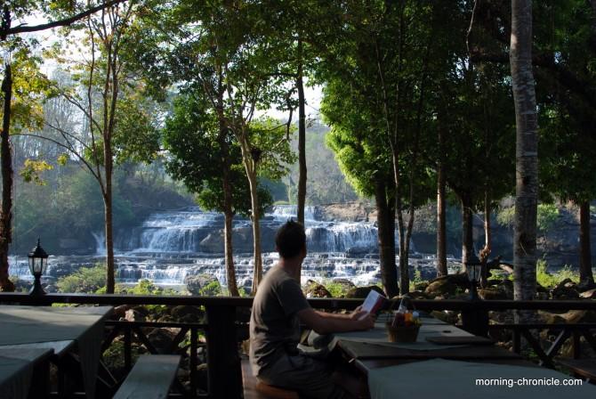 Break à Tad Lo - Laos