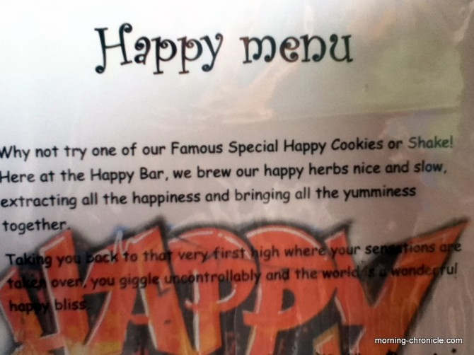 Happy Menu Don Det