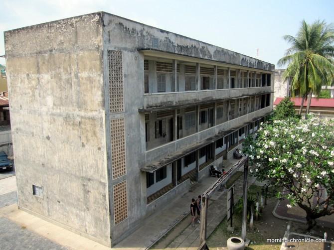 Bâtiment des prisonniers de Tuol Sleng
