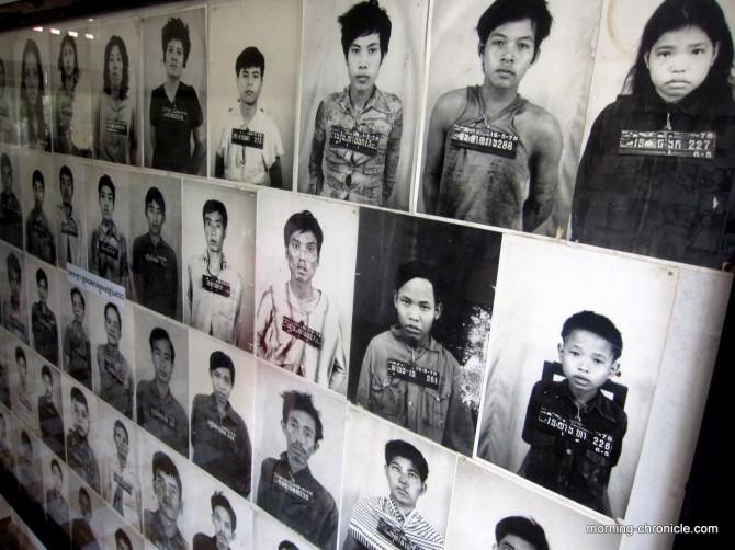Galerie des photos des torturés S21...