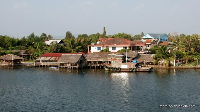 Vie tranquille à Kampot
