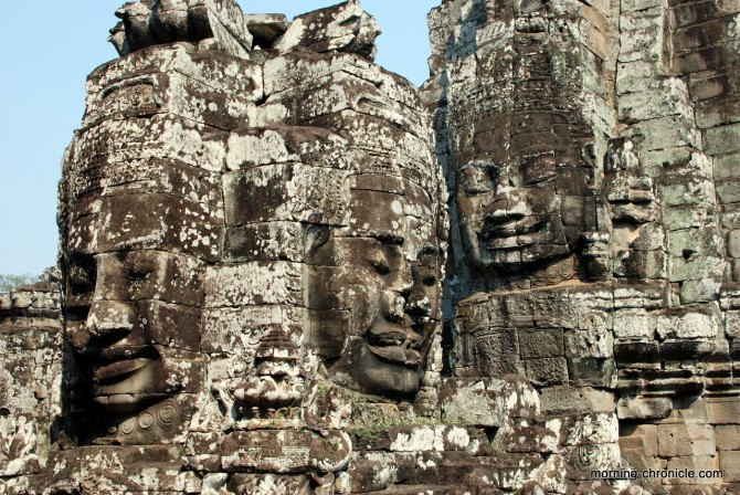 Bayon à Angkor