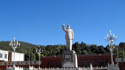 Lìjiāng : viande de yack Naxi, Mao et le reste