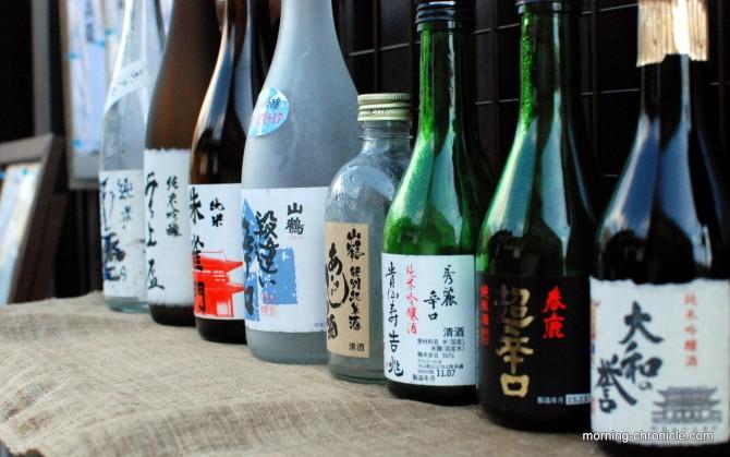 Saké et autres alcools nippons