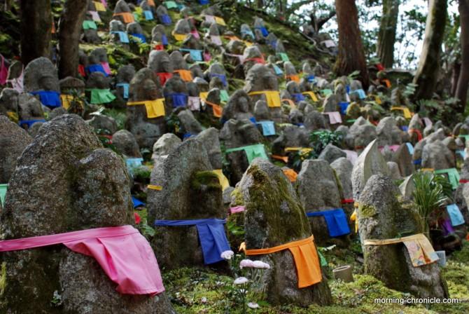 Champs de statues funéraires