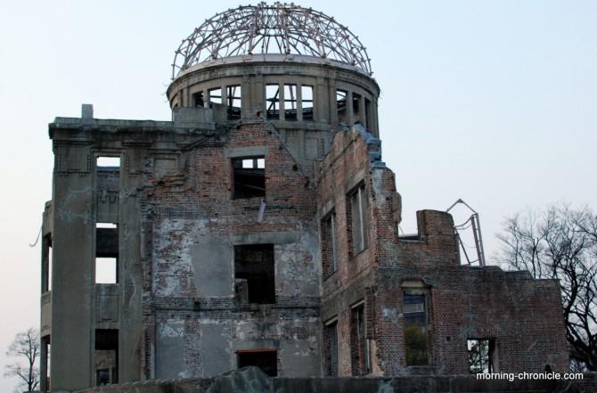 Intérieur du dôme Hiroshima