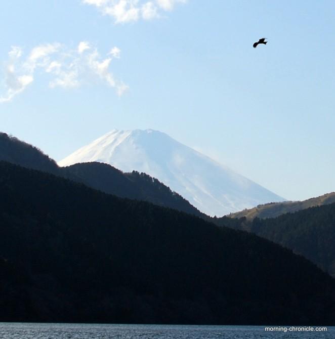 Imposant mont Fuji