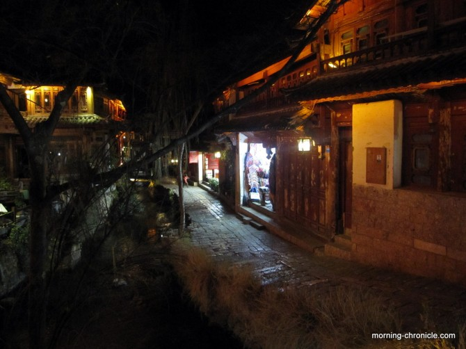 Nuit à Lijiang