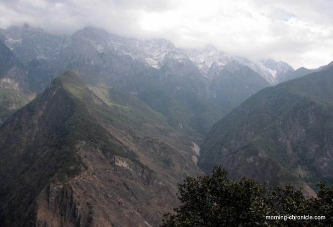 Montagne de Jade enneigée