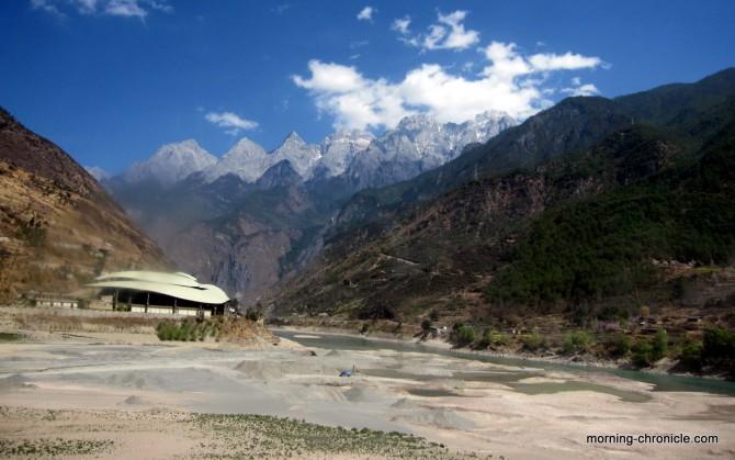 Route de départ de Shangri La