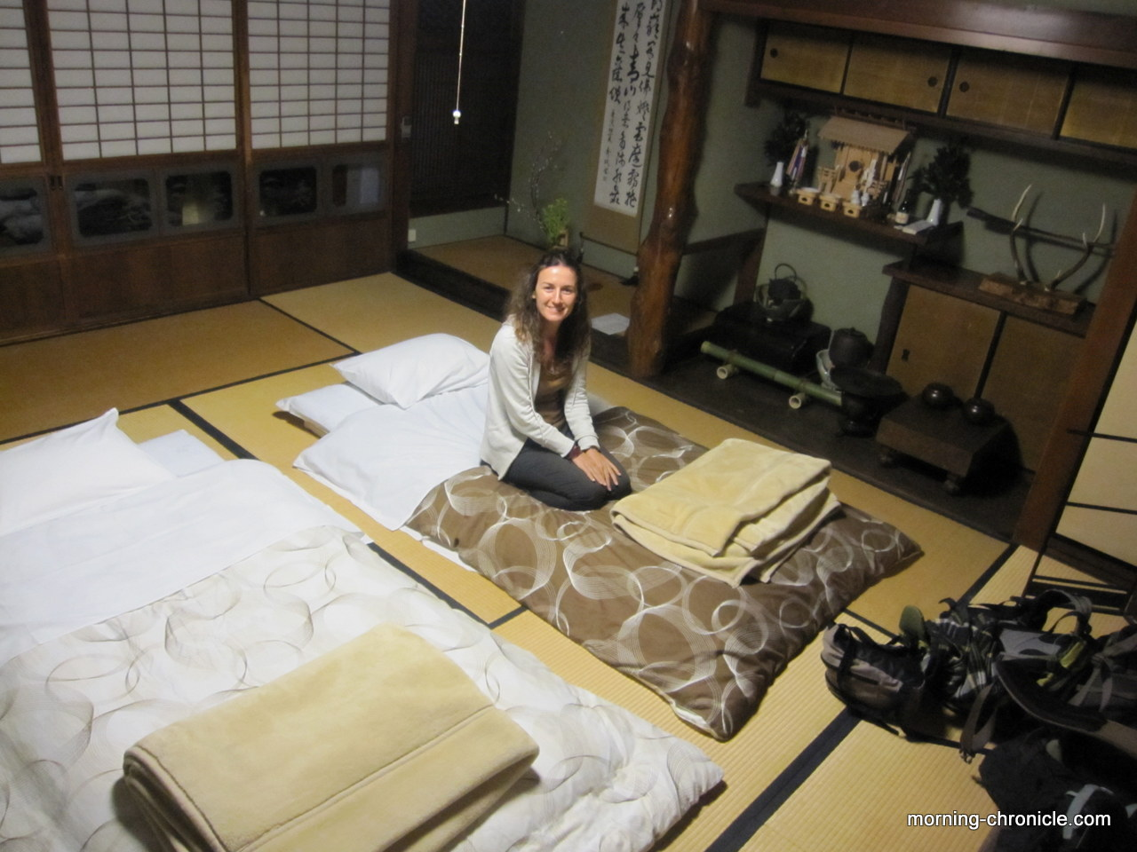 nara avec miho morning chronicle. Black Bedroom Furniture Sets. Home Design Ideas
