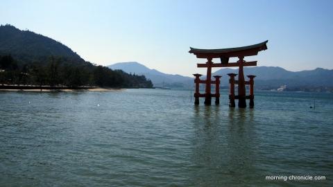 Miyajima, shrine et huîtres