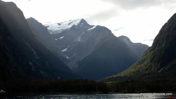 Milfjord sound et neige