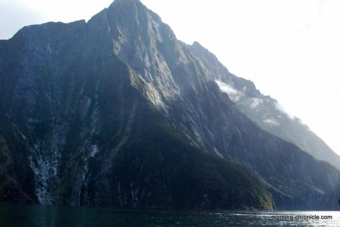 Milfjord sound montagne