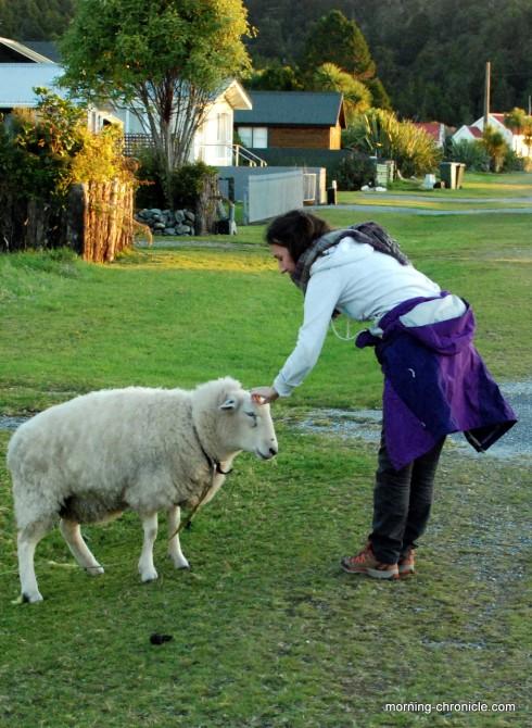Juliette rencontre le voisin
