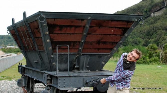 Chariot sur rail