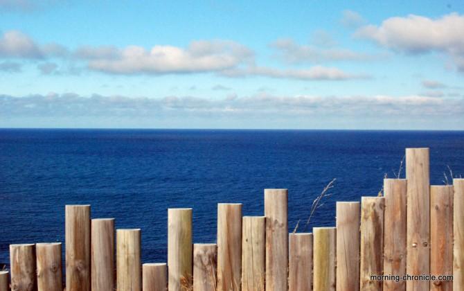 Ballade au bord de l'océan