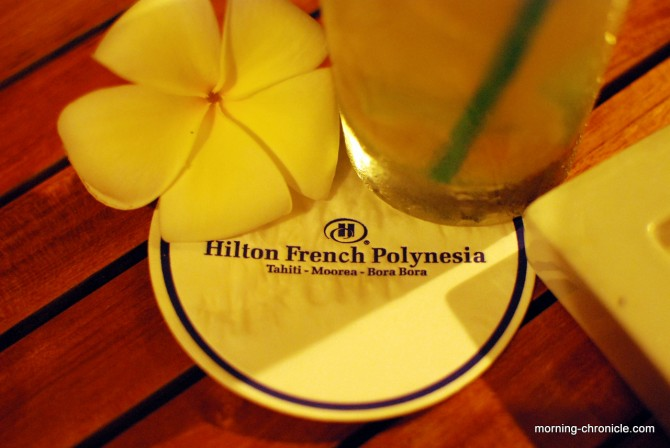Ti punch time au Hilton