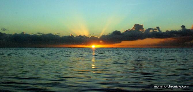 Lumière au coucher du soleil