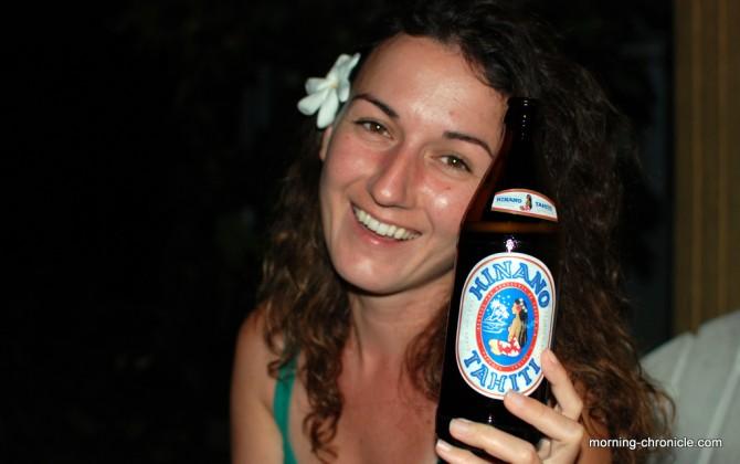 Bière de Polynésie