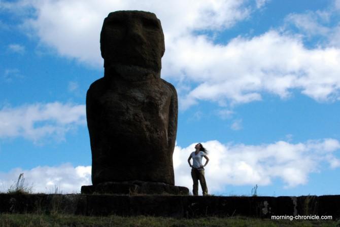 Moai du port