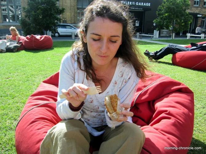 Sandwich de glace à Auckland