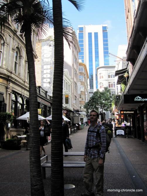 Auckland dans les rues