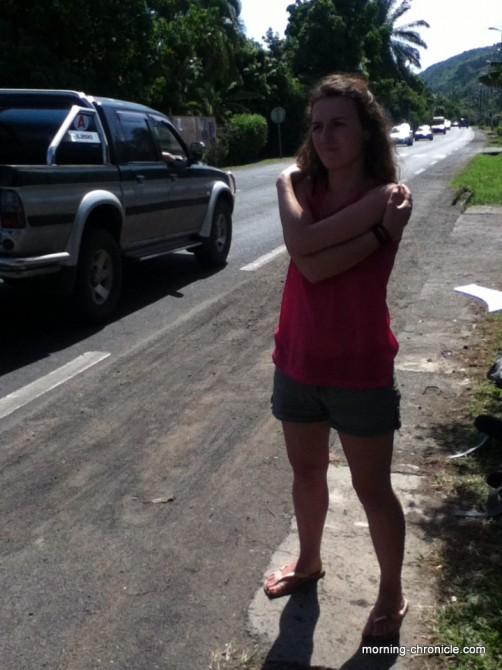 Juliette fait de l'auto-stop...