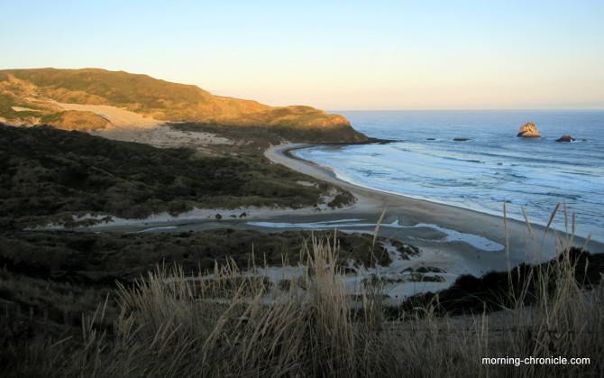 Panorama Sandfly Beach