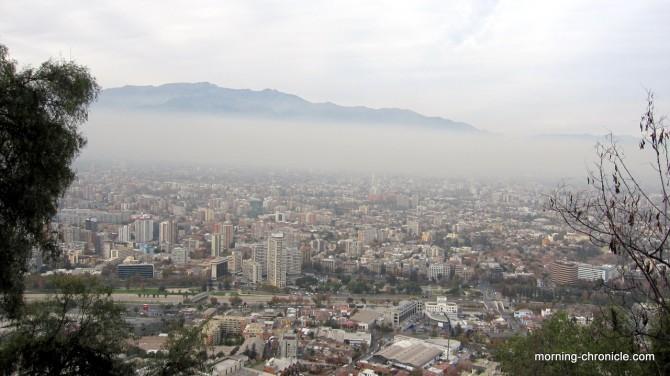 Vue de Santiago