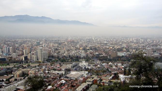Santiago, ville qui respire