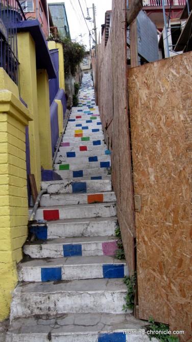 Escalier Pop Art