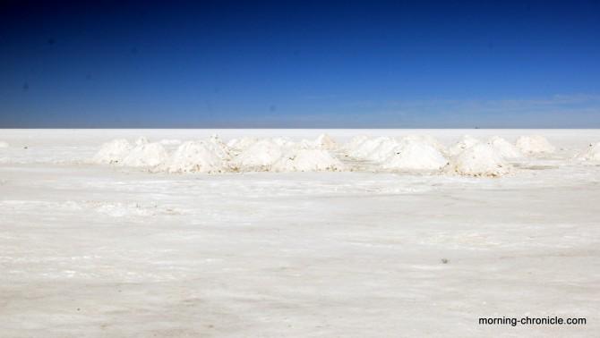 Monticules de sel