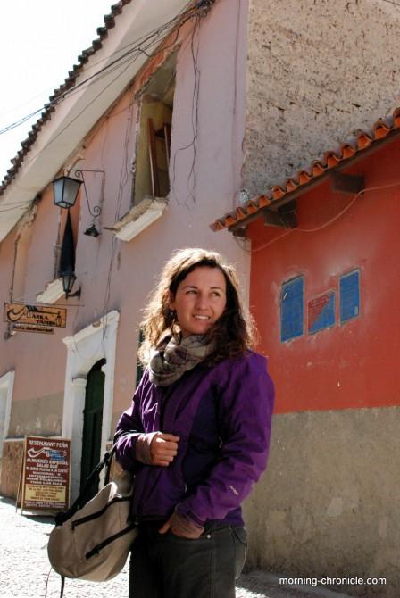 Dans les rue de La Paz