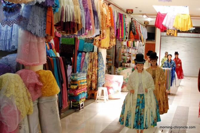 Tienda para Cholitas