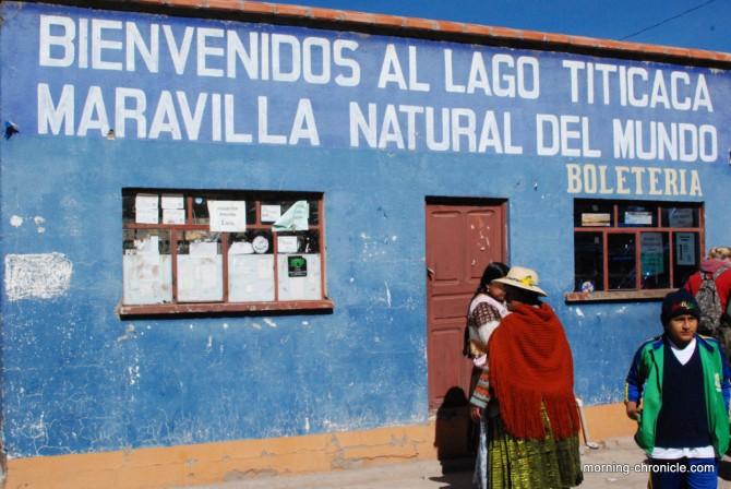 Bienvenus au Lac Titicaca