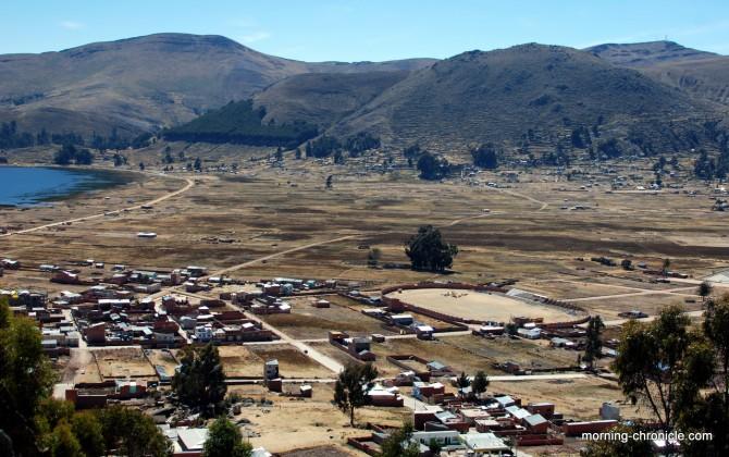 Montée vers l'horcha del Inca Observatoire