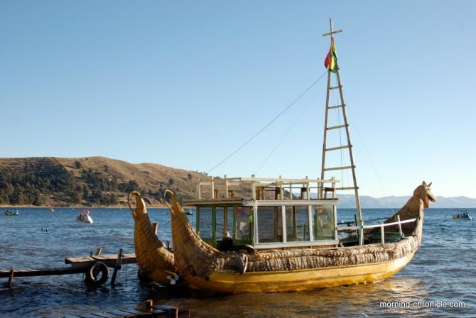 Embarcation inca