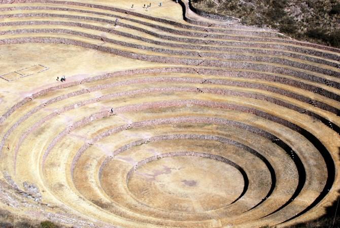 Champs agricoles incas