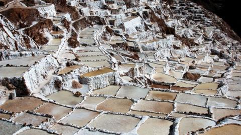 Les terrasses de Moray et les Salines de Mara