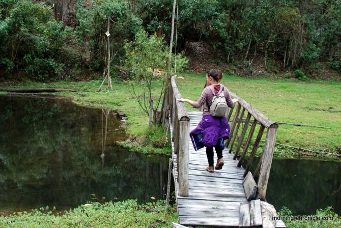 Le pont de la rivière