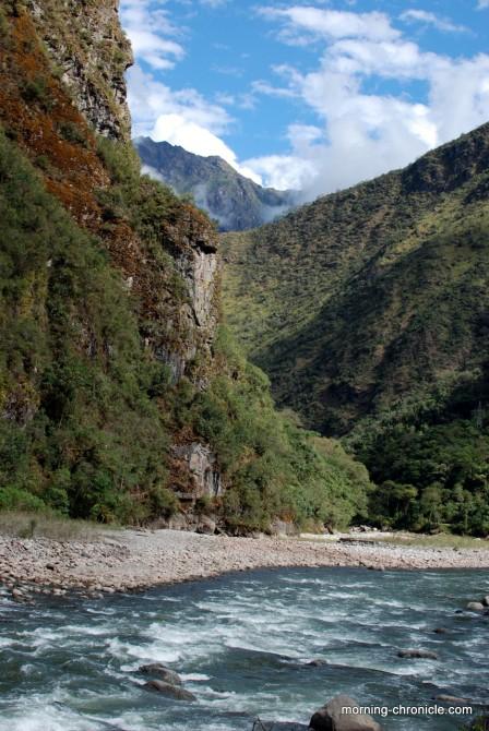 La rivière de la vallée sacrée