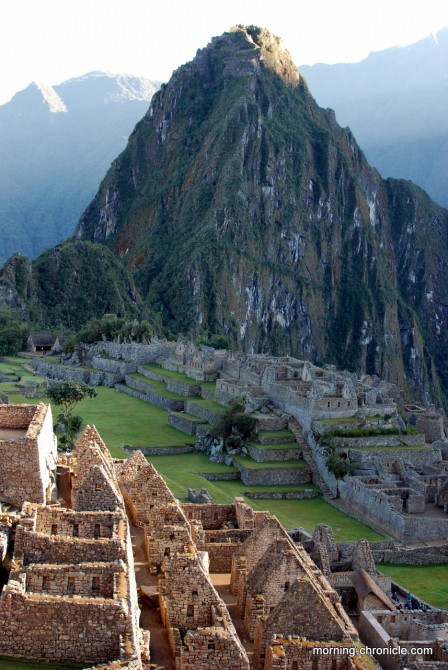 Le Machu Picchu se lève
