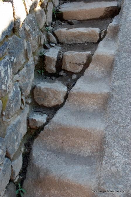 Escalier nouveau et ancien