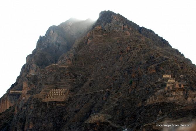 Les ruines inca d'Ollanta