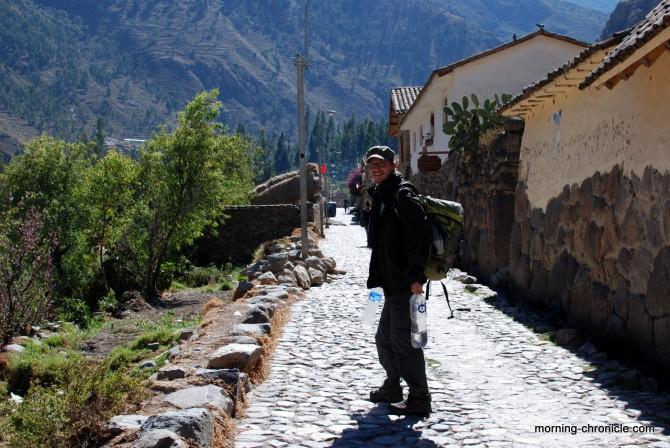 Chemin inca à Ollanta