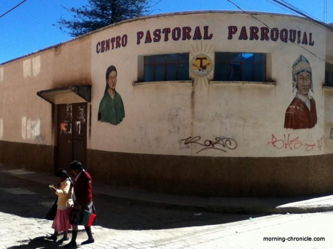 Centre pastoral bolivien