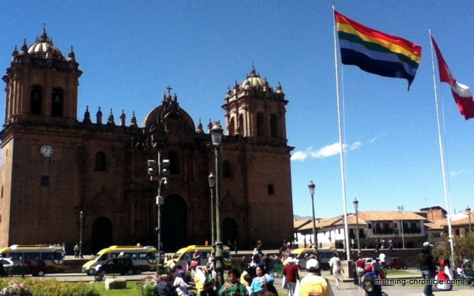 Cathédrale plaza de Arma